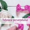 12.05 Eveniment pentru copii: Alegria Eco Fun – Tehnica servetelului