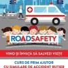 12.05 Curs de prim ajutor cu simulare de accident auto