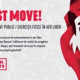 13.10 Exercitii fizice in aer liber: Just Move