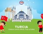 16.11 Eveniment pentru copii: Turcia – călătorii pentru Minte, Trup și Suflet
