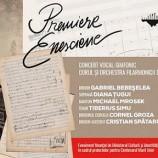7.12 Concert vocal-simfonic: Premiere enesciene