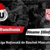 22.12 Eveniment sportiv: U-Banca Transilvania – Dinamo Știința București