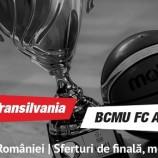 13.03 Eveniment sportiv: U-Banca Transilvania – BCMU FC Argeș Pitești
