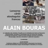 19.04 Lansare carte și conferință: Alain Bouras