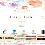 Gina Butiuc: Later Edit – new collections coming soon