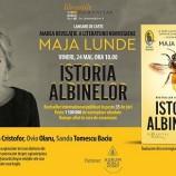 24.05 Lansare de carte: Istoria albinelor