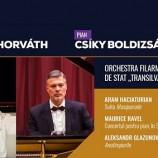 14.06 Concert simfonic – dirijor József Horváth