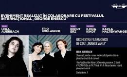 3.09 Concert simfonic – dirijor Lera Auerbach