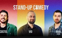 14.08 Stand Up Comedy cu Costel, Vio & Raul Gheba