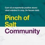 17.09 Conferință: Pinch of Salt Community