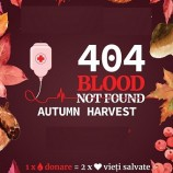 19.11 Campanie umanitara: 404 Blood Not Found