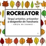 23-24.11 Târgul artizanilor și designerilor din Transilvania: RoCreator