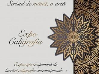 23.01-2.02 Expozitie: ExpoCaligrafia – Scrisul de mână, o artă