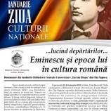 22.01 Expozitie: Ziua Culturii Nationale