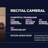 19.02 Recital cameral: Cvartetul Transilvan