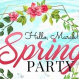 3.03 Hello March, Spring Party