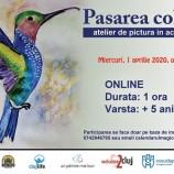 1.04 Atelier de pictura in acuarele: Pasarea colibri