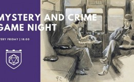 7.08 Jocuri de societate: Mystery and Crime Game Night