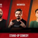 12.08 Stand Up Comedy cu Vio, Natanticu & Mirica