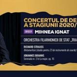 18.09 Concertul de deschidere a stagiunii 2020/2021