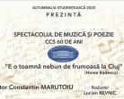 28.10 Spectacol de muzică și poezie: CCS 60 de ani