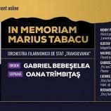 16.10 Concert In Memoriam Marius Tabacu