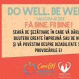 27.10 Seară de şezătoare: do well. be well