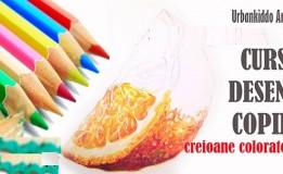 30.03 Eveniment pentru copii: Curs desen creioane colorate