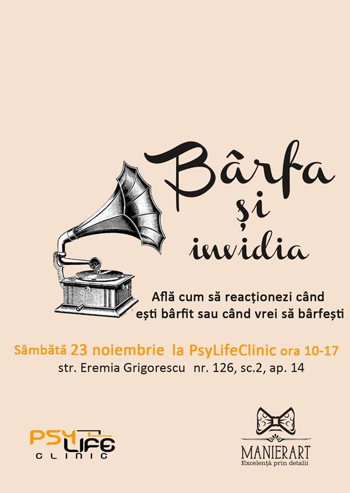 AFIS workshop Barfa si Invidia