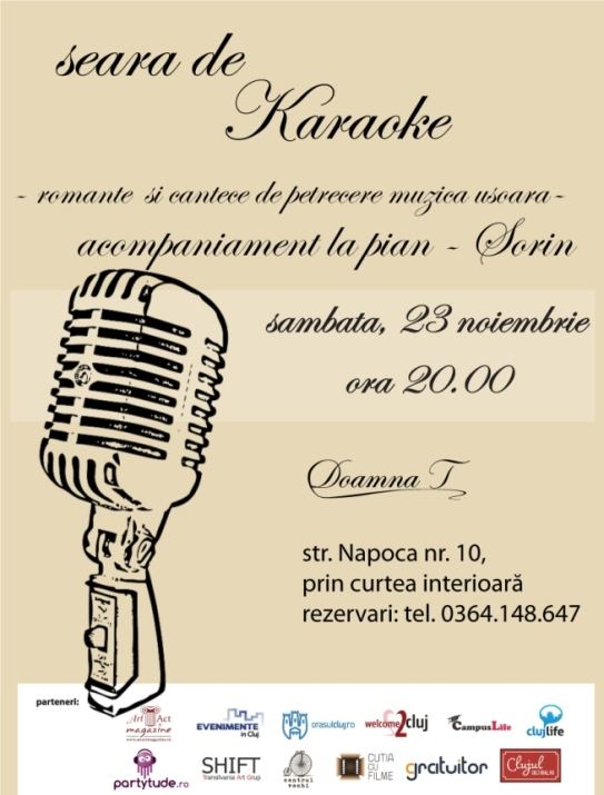 karaoke cluj