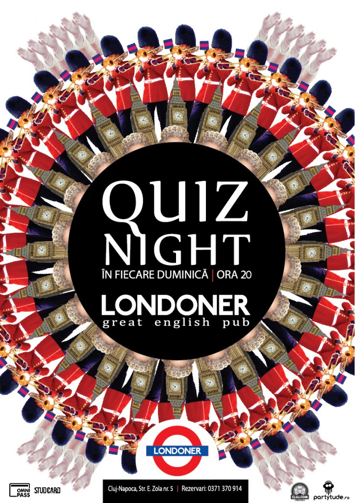 Poster Londoner Quiz ora 20