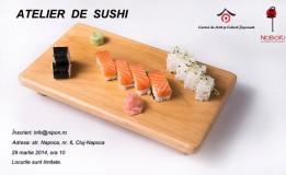 29.03 Învaţă să faci sushi  la restaurantul Nobori
