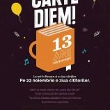 22.11 – Evenimente speciale la aniversare! Carturesti implineste azi 13 ani! :)