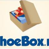Implica-te in proiectul ShoeBox 2013 si fa o bucurie unui copil