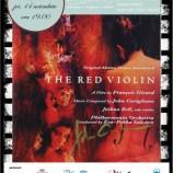 14.11 – Filmul The Red Violin la Cinema Cafe in Doamna T