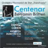 22.11 Concert Simfonic – Centenar Benjamin Britten sub bagheta dirijorului Daniel Cohen