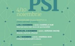 4-10.11 – Saptamana PSI la Carturesti Cluj