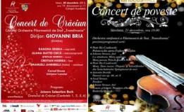 """20-21.12 – Două concerte de Crăciun, cadouri muzicale din partea Filarmonicii """"Transilvania"""""""