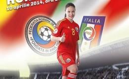10.04 Meci de fotbal dintre Romania si Italia pe Cluj Arena