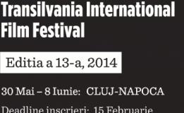 30.05 – 08.06 Inscrieri TIFF 2014