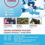 4.05 Cinema Victoria: Maraton de filme pentru tineret la Young Audience Film Day