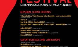 05.08–10.08  Transilvania International Guitar Festival