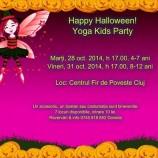 31.10 Halloween Yoga Kids Party în Cluj
