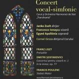 23.01 Concert vocal-simfonic