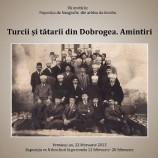 12-28.02 Expoziție: Turcii și tătarii din Dobrogea. Amintiri