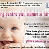 14.03 Targ pentru pici, mamici si tatici