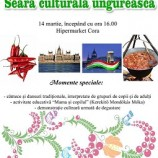 14.03 Seara culturală ungurească