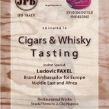 16.06 Cigars and Whisky Tasting