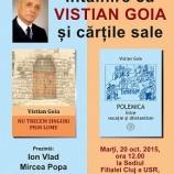 20.10 Întâlnire cu Vistian Goia