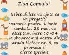 26.05-1.06 Pregătește ziua copilului la Bebepufulete: sâmbătă te așteaptă oferte speciale